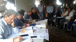 reunion de alcalde y ministro